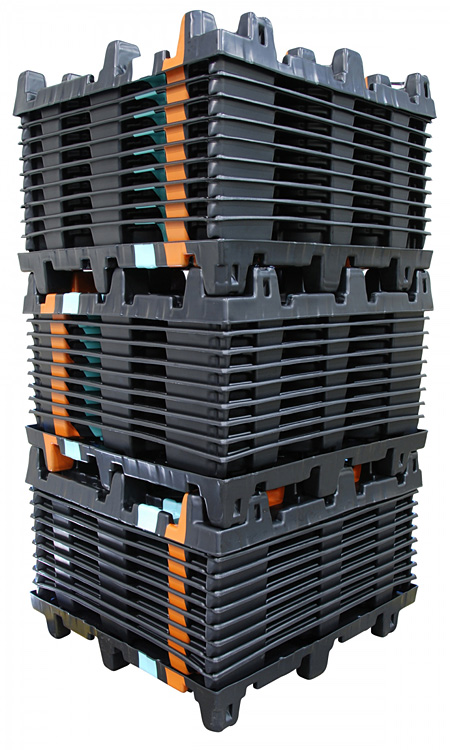 Thermoforming Advantage Plastic Pallets over Wood Pallets