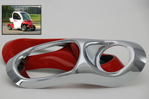 Custom Thermoformed Plastic OEM Automotive Components