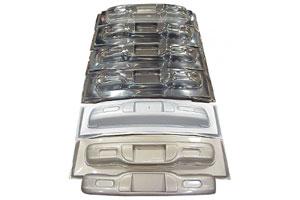 Vacuum Formed Metallic Car Bumpers