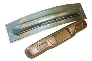 Metallic Automotive Thermoform Plastic Bumpers
