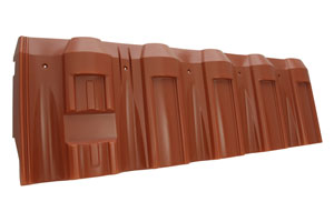 Vacuum Form Plastic Roofing Shingle