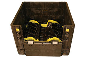 Thermoplastic Reusable Industrial Crate