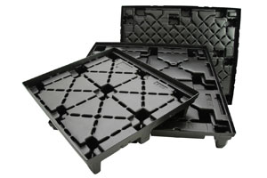 Vacuum Form Plastic Pallets for Sod or Plants