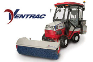 Thermoformed Tractor Cab Hood for Ventrac