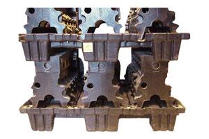 Vacuum Form Pallets for Engine Blocks