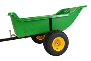 Thermoplastic Lawn & Garden Trailer