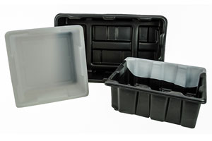 Durable Thermoformed Plastic Totes