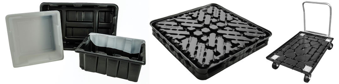 Thermoformed Plastic Material Handling Solutions