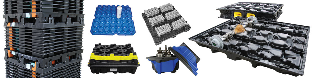 Thermoformed Plastic Industrial Packaging and Dunnage – Allied Plastics