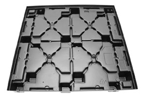 Mirror Image Thermoformed Plastic Pallet