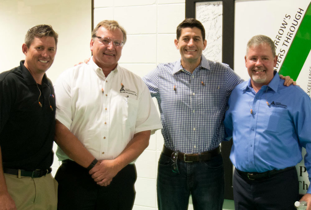 Creating Jobs in Thermoforming & Investing in Innovation – Paul Ryan Visits Allied Plastics