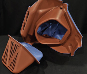 Thermoformed Front Bumper Air Silencer Intake–Allied Plastics