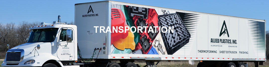 Thermoformed Plastic Custom Spare Parts for Transportation – Allied Plastics