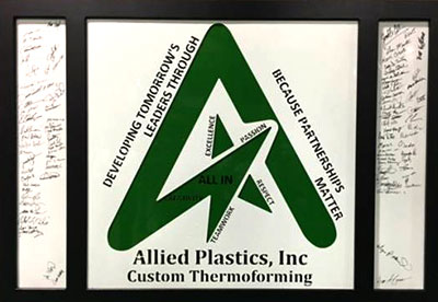 Allied Plastics Thermoforming Employee Excellence All IN Program