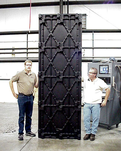 10 ft Thermoformed Plastic Section Plate – Allied Plastics Custom Vacuum Forming Advantage