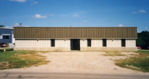 Allied Plastics first building