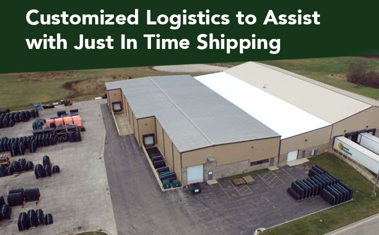 Customized logistics help OEMs reduce lead times and inventory demands