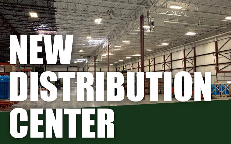 New Distribution Center is double the size, efficiency and convenience