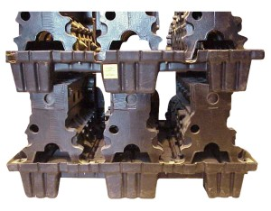 engine block and pallets